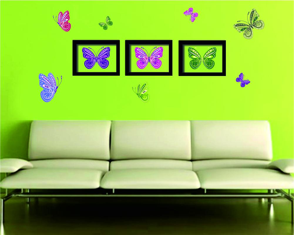 pillangós faldekoráció